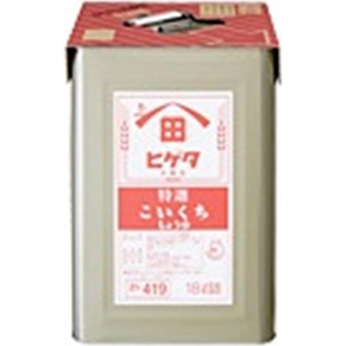 ヒゲタ 濃口 18L天パット缶業務用