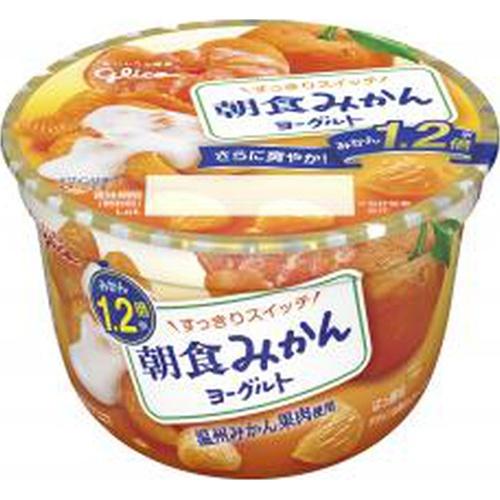 グリコ 朝食みかんヨーグルト 140g