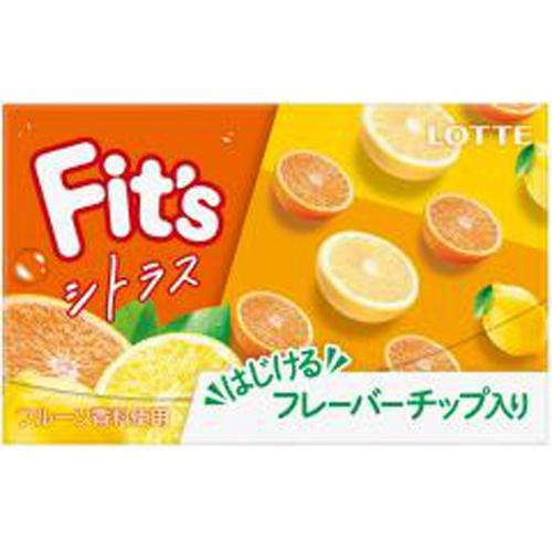 ロッテ Fit'sシトラス 12枚【09/21 新商品】