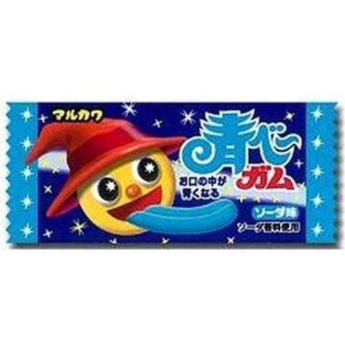 丸川製菓 青ベーガム 1個