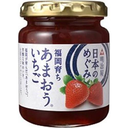 明治屋 日本のめぐみあまおういちごジャム 150g