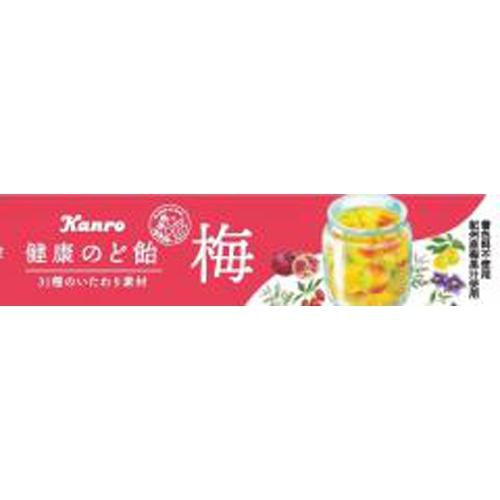 カンロ 健康梅のど飴 11粒