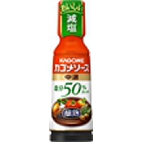 カゴメ 醸熟ソース塩分50%カット中濃 180ml