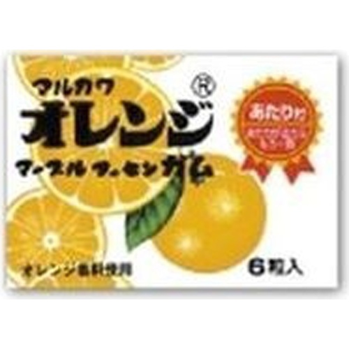 丸川製菓 オレンジマーブルガム