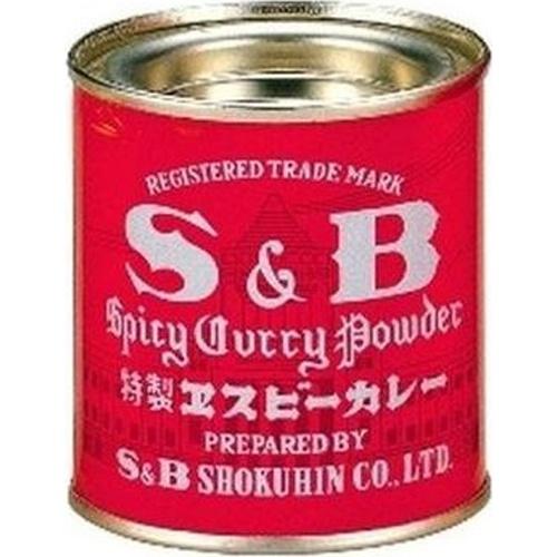 S&B 缶カレー 37g