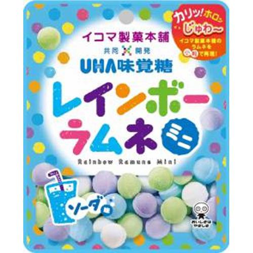 味覚糖 レインボーラムネミニ ソーダ30g