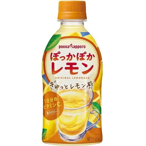 ポッカサッポロフード ぽっかぽかレモン P350ml