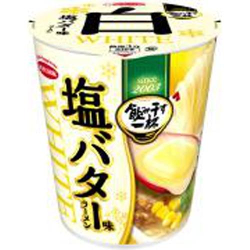 エース 飲み干す一杯WHITE塩バター味ラーメン