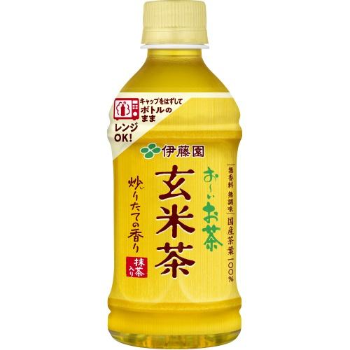 伊藤園 お〜いお茶 玄米茶レンジ対応P345ml