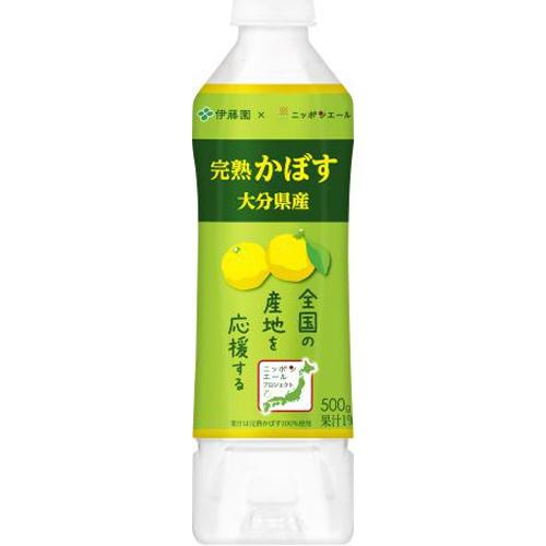 伊藤園 ニッポンエール大分県産完熟かぼすP500g【10/04 新商品】