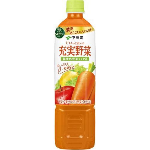 伊藤園 充実野菜 緑黄色野菜ミックスP740g【10/11 新商品】