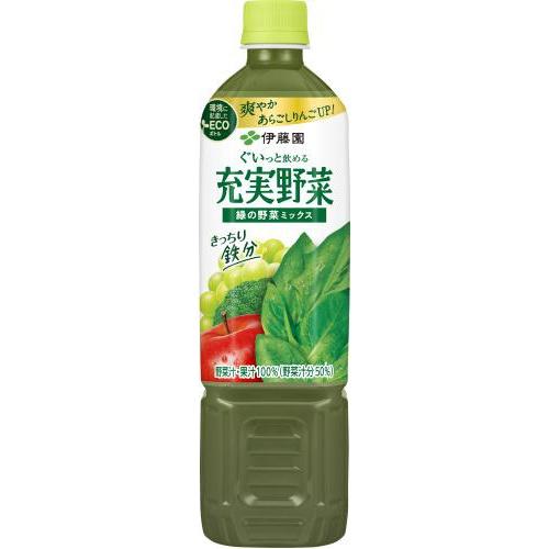 伊藤園 充実野菜 緑の野菜ミックスP740g【10/11 新商品】