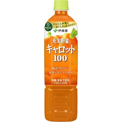 伊藤園 充実野菜キャロット100 P740g【10/11 新商品】