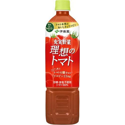 伊藤園 充実野菜 理想のトマトP740g【10/11 新商品】