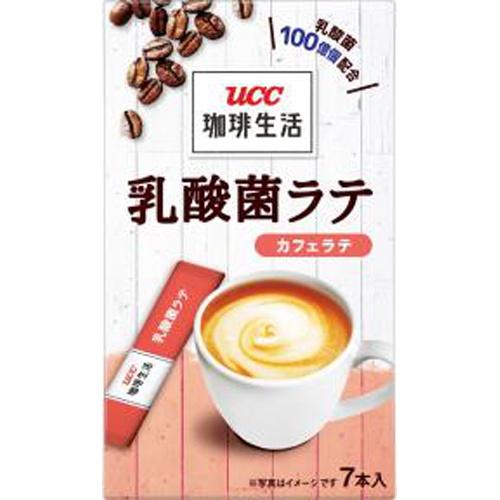 UCC 珈琲生活 乳酸菌ラテカフェラテ7P