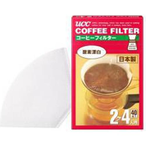 UCC コーヒーフィルター(2〜4人用)40P