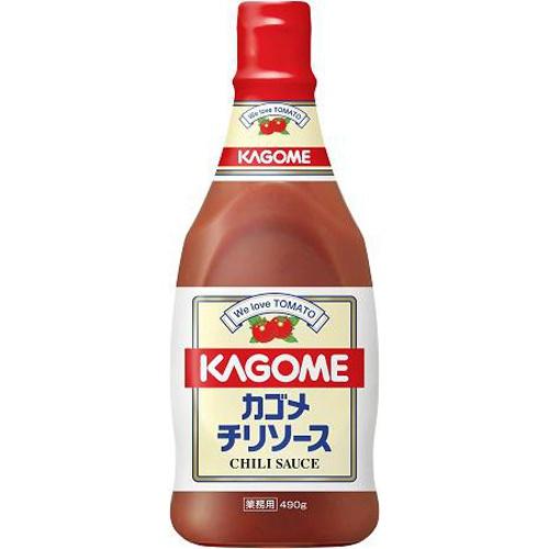 カゴメ チリソースボトル 490g業務用【10/08 新商品】