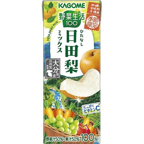 カゴメ 野菜生活 日田梨ミックス紙195ml