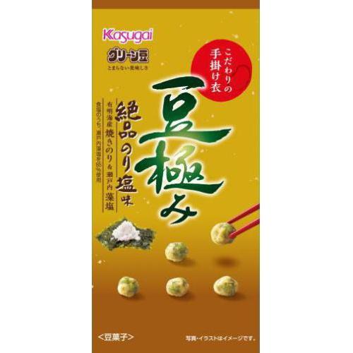 春日井製菓 スリム豆極み 絶品のり塩味33g【11/01 新商品】