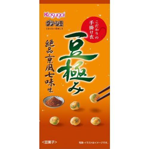 春日井製菓 スリム豆極み 絶品京風七味味33g【11/01 新商品】