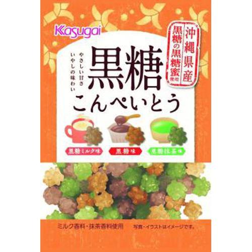 春日井製菓 黒糖こんぺいとう 35g