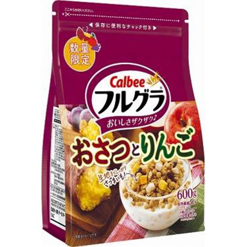 カルビー フルグラおさつとりんご 600g【11/15 新商品】