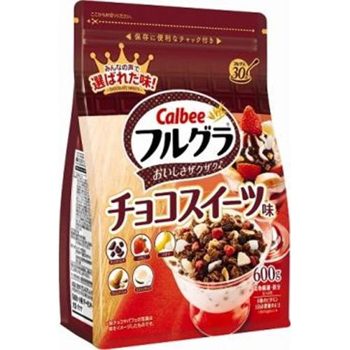 カルビー フルグラ チョコスイーツ味600g