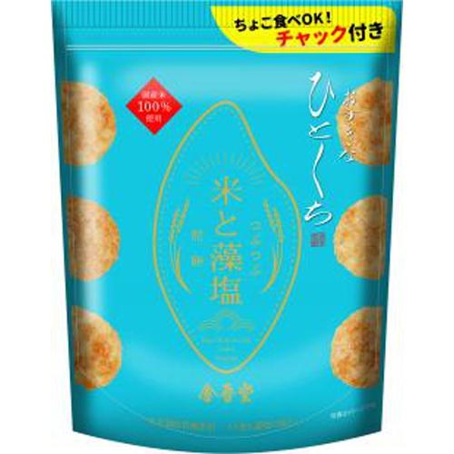 金吾堂 おすきなひとくち 米と藻塩煎餅100g
