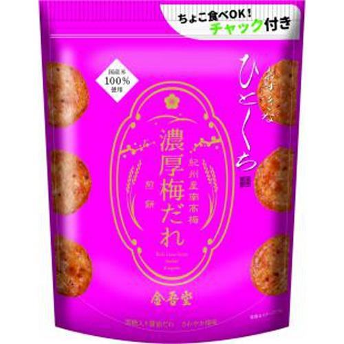 金吾堂 おすきなひとくち 濃厚梅だれ煎餅90g