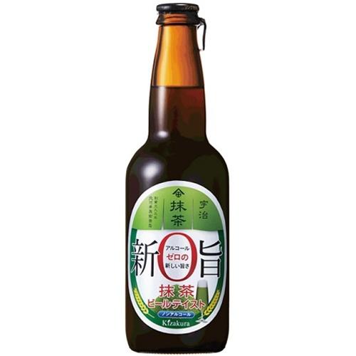 黄桜 新旨ゼロ 抹茶ビールテイスト 瓶330ml
