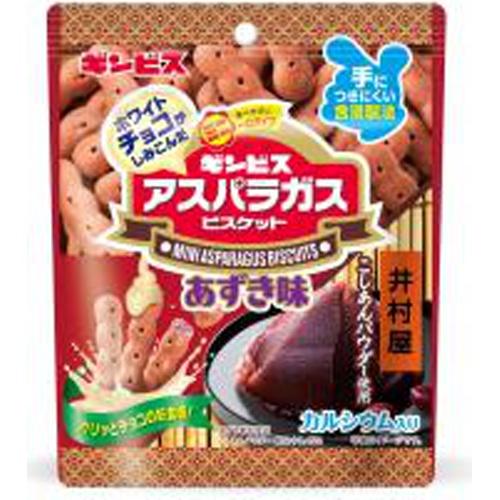 ギンビス チョコミニアスパラガス あずき味40g