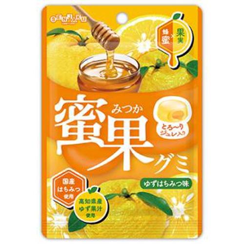 扇雀飴 蜜果グミ ゆずはちみつ味34g【09/20 新商品】