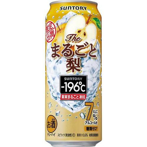 サントリーフーズ -196°C ザ・まるごと梨 500ml
