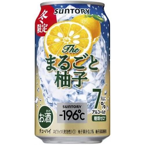 サントリーフーズ -196°C ザ・まるごと柚子 350ml