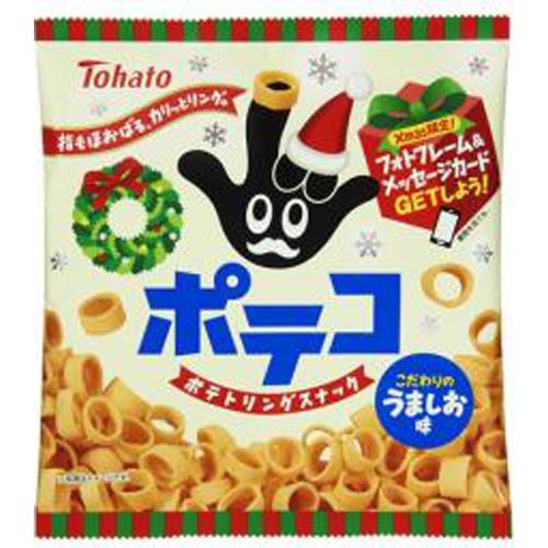 東ハト ポテコ うましお味クリスマス78g