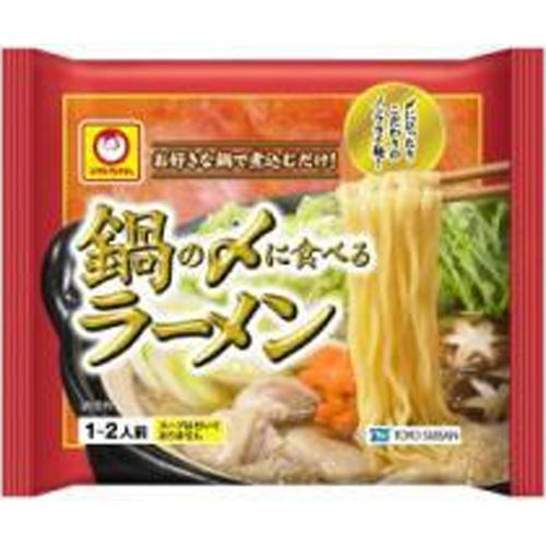 マルちゃん 鍋の〆に食べるラーメン