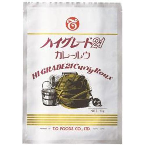 テーオー ハイグレード21カレールウ1kg業務用【10/09 新商品】