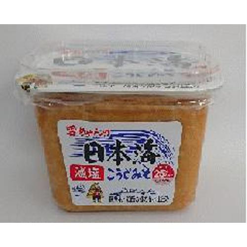 日本海 カップ雪ちゃん 減塩こうじみそ500g