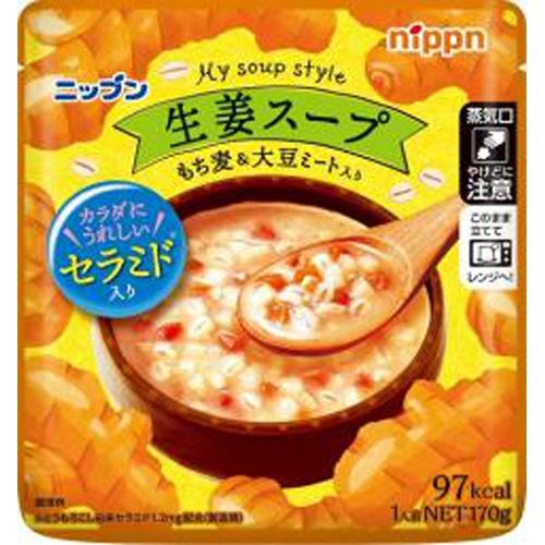 ニップン マイスープスタイル 生姜スープ170g