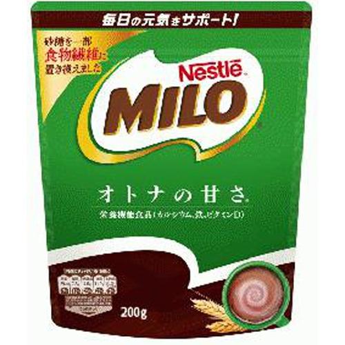 ネスレ ミロ オトナの甘さ200g【10/18 新商品】