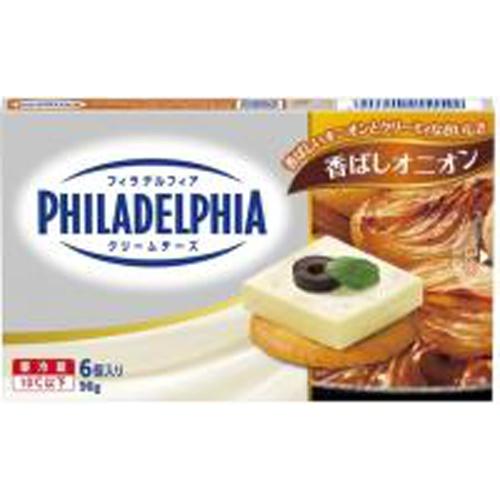フィラデルフィア クリームチーズ6P香ばしオニオン