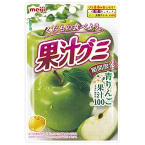 明治 果汁グミ青りんご 47g