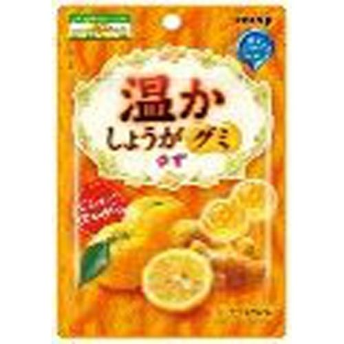 明治 温かしょうがグミ ゆず40g【12/14 新商品】