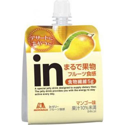 森永 inゼリー フルーツ食感マンゴー150g
