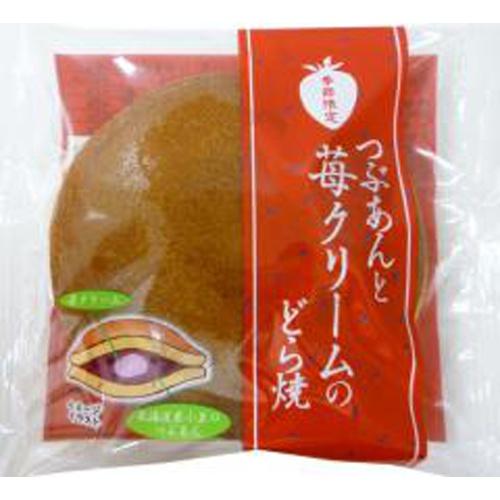 米屋 つぶあんと苺クリームのどら焼 1個【10/04 新商品】
