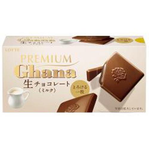 ロッテ プレミアムガーナ生チョコレートミルク12枚
