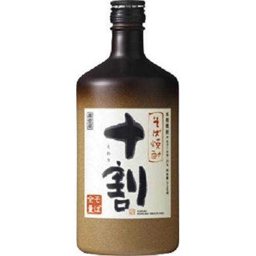 宝 本格そば焼酎「十割」25度 720ml【10/10 新商品】