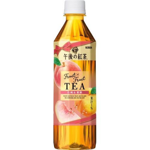 午後の紅茶 TEA白桃&黄桃 P500ml【11/09 新商品】