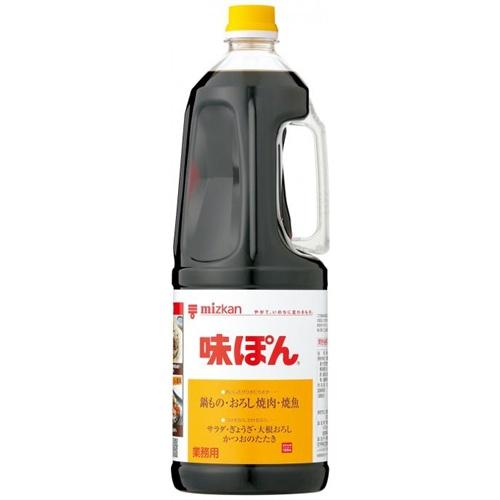 ミツカン 味ぽん(ハンディペット) 1.8L業務用