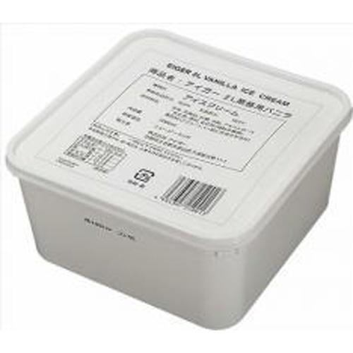 バニラアイス 乳脂肪分10% 2L